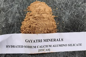 HYDRATED SODIUM CALCIUM ALUMINO SILICATE [HSCAS] POWDER